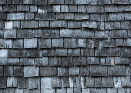 shingles: Background of worn-out wooden shingles