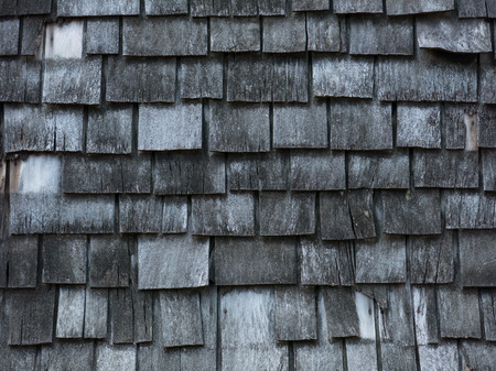 shingles: Background of aged wooden shingles
