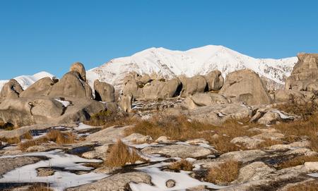 boulders: Limestone boulders of Castle Hill conservation area, New Zealand