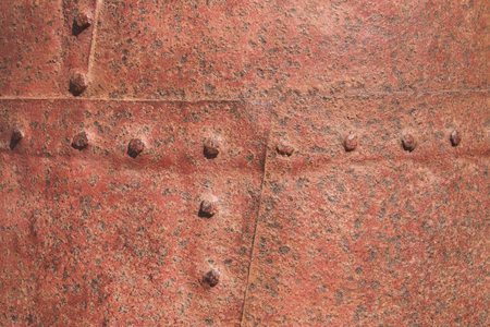 riveted metal: Background  of riveted metal surface
