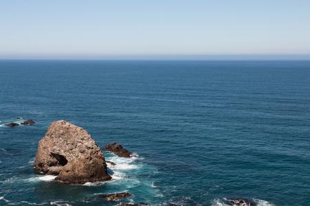 rock formation: Rock formation in the ocean