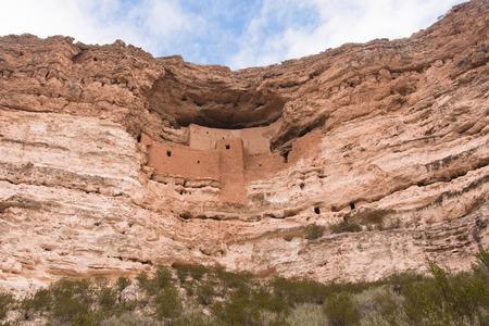 eliminated: Cliff of Montezuma Castle, Arizona, USA