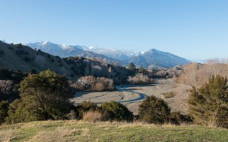 riverine: Rural New Zealand, View to Kahutara River