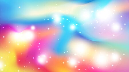 Abstract colorful watercolor style  background with scattering glitter. EPS10, vector and illustration.