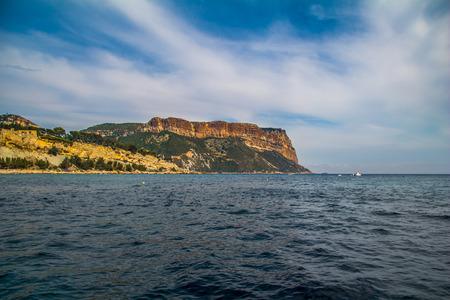 Coastline Cote dAzur Stock Photo