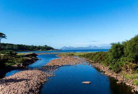Beautiful Scottish Lake in the Highlands
