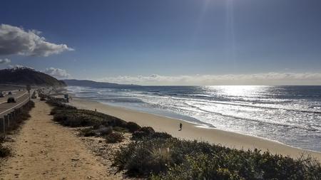 Beautiful Beach in San Diego, California