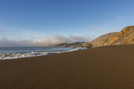 Black Sands Beach north of San Francisco, Marin Headlands