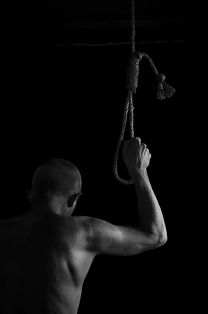 The man who decided to hang himself. Reklamní fotografie