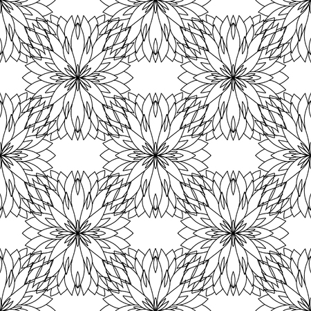 Elegant and cute illustration. Abstract pattern. An isolated abstract drawing depicting himself, oriental pattern for the decor and background of your design. Vector illustration. Illustration