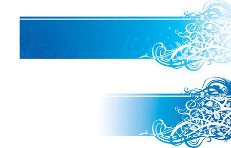 color vector image of flourish ornate banner Banco de Imagens - 7749549