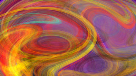 Colorful watercolor twirl abstract background for creative design Stock Photo