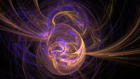 Planet Erde Magnetfeld bunte abstrakte Hintergrund