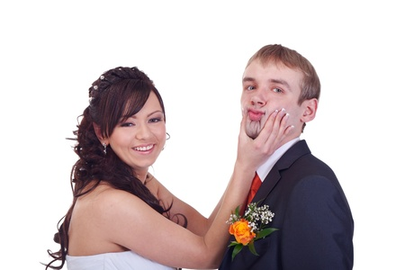 Bride is forcing groom to say yes