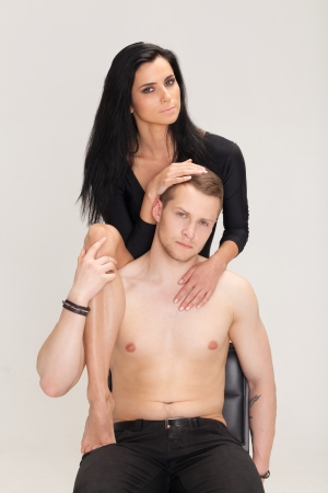 Young attractive and sexy couple  Stock Photo