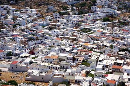 lindos: Greek buildings of Lindos