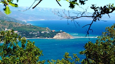 Bay of Plaka from Ayu-Dag