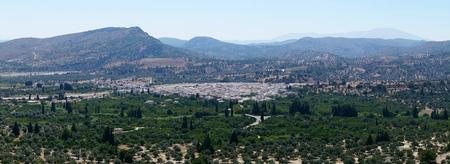 tsampika: panorama from the monastery of Tsampika Rhodes
