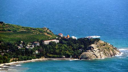 Cape of Plaka from Ayu-Dag Stock Photo