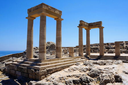 antiquities: columns of the temple