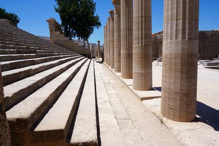 roman pillar: columns of the temple