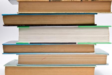 classics: books on white background Stock Photo