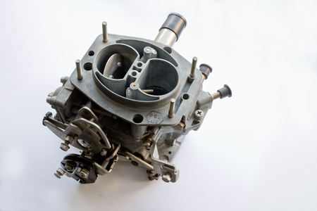 carburetor: carburetor on white background
