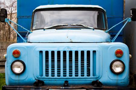 old abandoned truck Archivio Fotografico