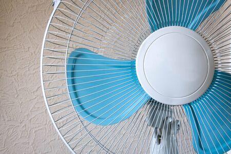 air fan blades closeup