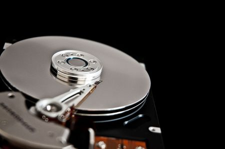 hard disk drive closeup Stock Photo - 7817915