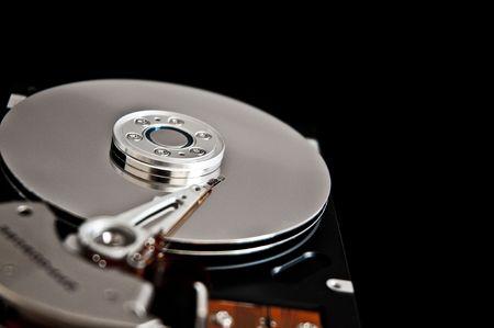 hard disk drive closeup Stock Photo - 7817915