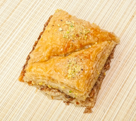 baklawa: Traditional Greek or Turkish desert Baklava
