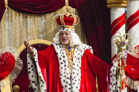 왕: 리마 솔 - 2 월 14 일 : 리마 솔, 키프로스에 2010 년 2 월 14 일에 카니발 퍼레이드에서 카니발 킹.