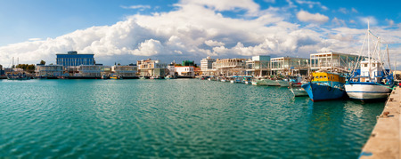 New Limassol Marina  Panoramic photo