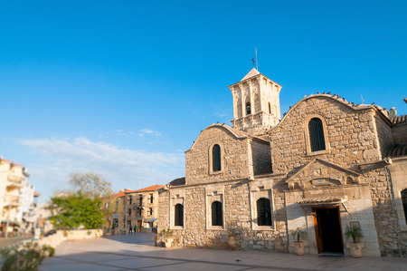 lazarus: Saint Lazarus Church, Larnaca, Cyprus Stock Photo
