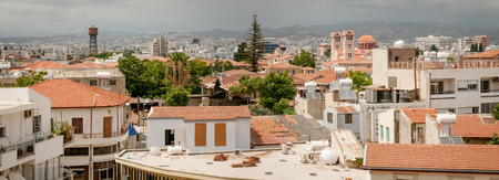 stone of destiny: Limassol. Cyprus. Panorama of old town