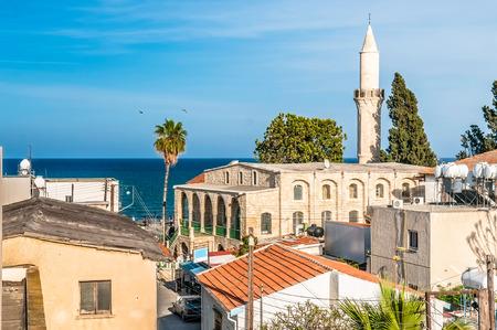 ラルナカの古い町。キプロス