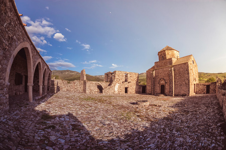 tou: Panagia tou Sinti Monastery. Paphos district. Cyprus
