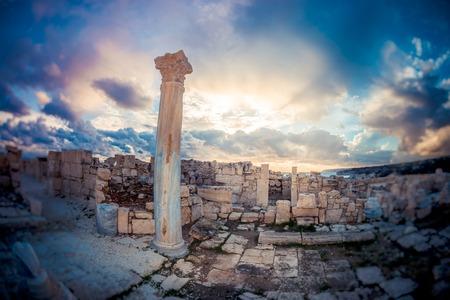 limassol: Kourion ruins. Limassol District, Cyprus Stock Photo