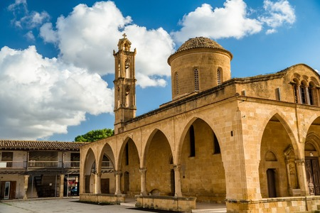 Agios Mamas Church. Morphou Guzelyurt, Cyprus. Stock Photo