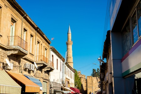 Arasta street, a touristic street leading to Selimiye mosque.