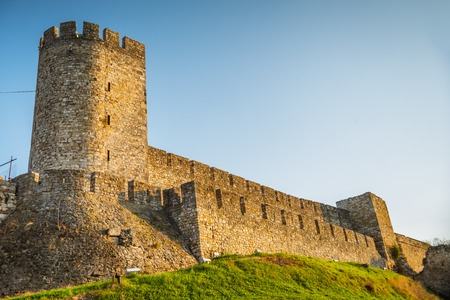 serbia: Kalemegdan fortress in Belgrade, Serbia Stock Photo