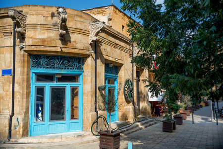 antique shop: Old antique shop at popular tourist Arasta street. Nicosia, Cyprus. Stock Photo