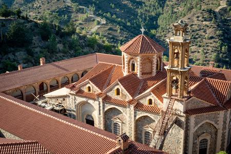 monasteri: La Santa, reale e Monastero Stavropegic di Machairas. Distretto di Nicosia, Cipro.