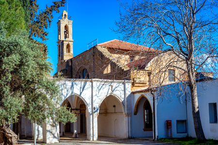 Notre Dame de Tyre or Our Lady of Tyre church. Nicosia, Cyprus
