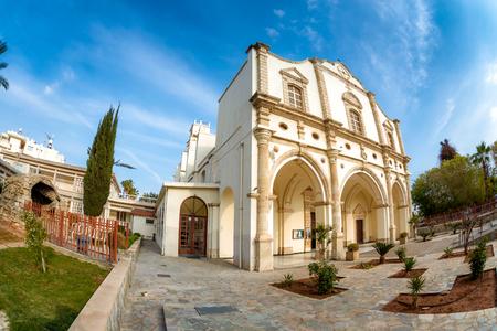Unsere dame der Gnaden katholischen Kirche. Larnaca, Zypern