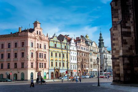 Platz der Republik in Plzen, Tschechische Republik