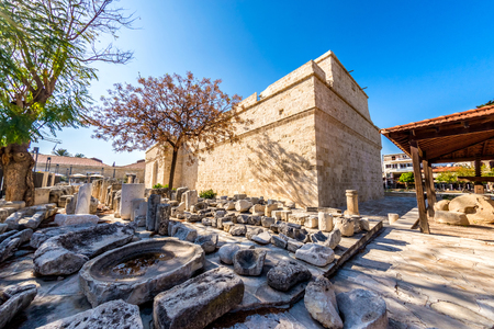 The medieval Limassol Castle. Cyprus.