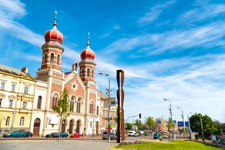 Die Große Synagoge in Pilsen, die größte Synagoge in der Tschechischen Republik.