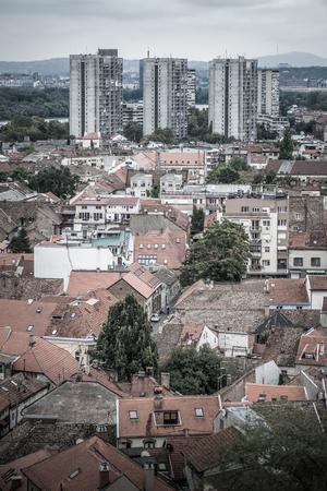 Zemun neighbourhood. Belgrade, Serbia. Standard-Bild